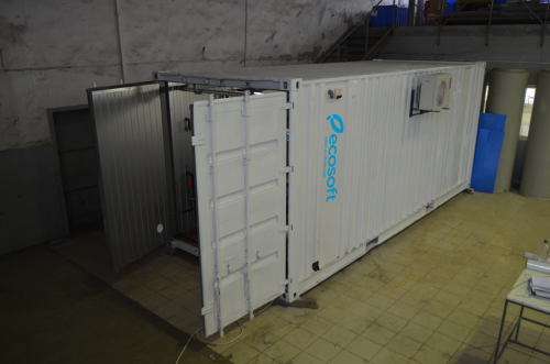 контейнерная система очистки воды