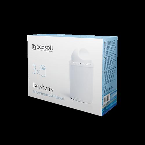 Комплект сменных картриджей для фильтра-кувшина Dewberry 3 шт.