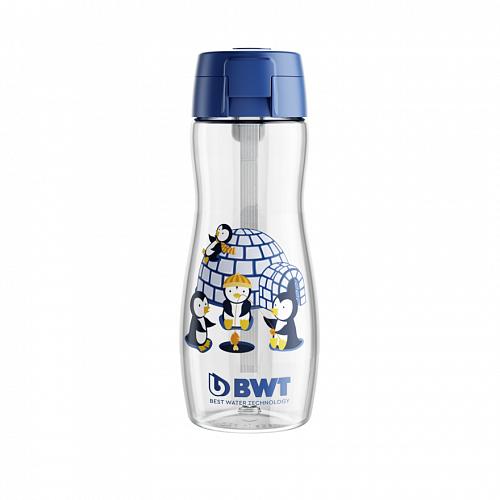 Детская бутылка BWT пингвиненок Майкл